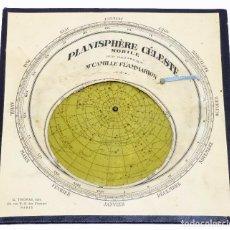 Antigüedades: 1890C - FLAMMARION BUSCADOR LOCALIZADOR DE ESTRELLAS STARFINDER STAR FINDER PLANISFERIO ASTRONOMÍA. Lote 276368983