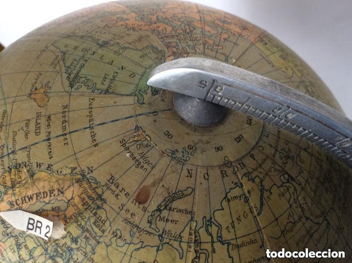 Antigüedades: Antiguo globo terráqueo Aleman Columbus,década años 30. Ideal coleccionistas - Foto 4 - 276402883