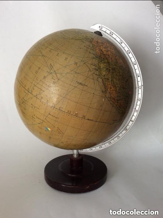Antigüedades: Antiguo globo terráqueo Aleman Columbus,década años 30. Ideal coleccionistas - Foto 7 - 276402883