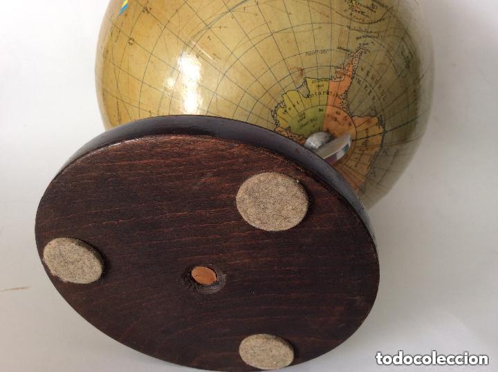 Antigüedades: Antiguo globo terráqueo Aleman Columbus,década años 30. Ideal coleccionistas - Foto 8 - 276402883