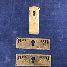 Antigüedades: APLIQUES CERRADURAS. Lote 276619813