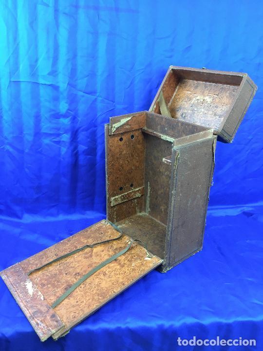 Antigüedades: proyector de cine Pathe baby Brevete con caja original - Foto 19 - 276628233