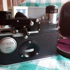 Antigüedades: MICROSCOPIO DE CAMPO NIKON H - FIELD MICROSCOPE NIKON H - AÑOS 1960. Lote 276652643