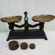 Antigüedades: BALANZA DE PUESTO DE MERCADO. Lote 276707448