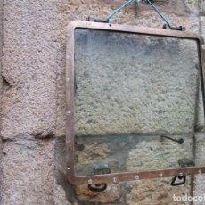 Antigüedades: ANTIGUO PORTILLO ' VENTANA ' ABISAGRADA DE BARCO, BRONCE, 14 KILOS 54X54X3.CM DE LOS 50'S+ INFO LI.. Lote 276724903