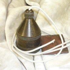 Antigüedades: PLOMADA INSTRUMENTAL Y CONSTRUCCIÓN. COMPLETA. S.XVIII. INSTRUMENTAL PLUMB BOB AND CONSTRUCTION.. Lote 276806788