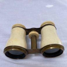 Antigüedades: BINOCULARES/PRISMÁTICOS DE HUESO SIGLO XIX. Lote 276813813