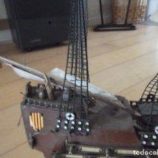 Antigüedades: ANTIGUO GALEON ESPAÑOL PARA RESTAURAR. Lote 276927993