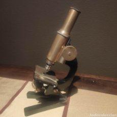 Antigüedades: MICROSCOPIO ALEMAN SIMPLE. Lote 276948243