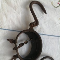 Antigüedades: BALANZA ROMANA MEDIA LUNA. Lote 277109968