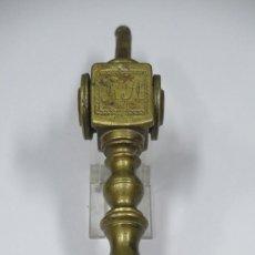 Antigüedades: LLAMADOR DE BRONCE. SIGLO XVIII. Lote 277154578