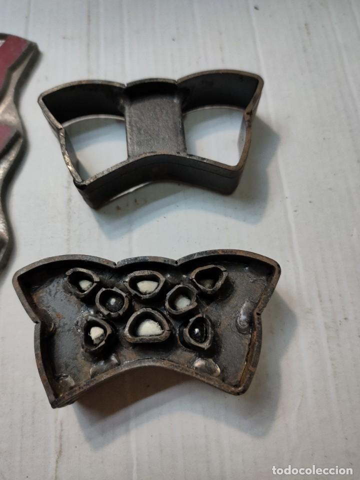 Antigüedades: Juego de adorno Antiguo Calzado -Marroquinería - Foto 4 - 277170028