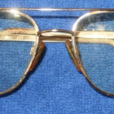 Antigüedades: LUXOTTICA 1262 - 135 FRAME - 52 - 17 - GUCCI GEP 18K - MADE IN ITALY. Lote 277204803