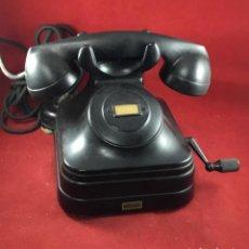 Teléfonos: ANTIGUO TELÉFONO DE BATERÍA LOCAL 5525B CON MAGNETO, DE STANDARD ELÉCTRICA PARA LA CTNE. Lote 277428858