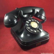 Teléfonos: ANTIGUO TELÉFONO ESPAÑOL DE BAQUELITA 5523E, DE STANDARD ELÉCTRICA, PARA ABONADOS DE LA CTNE. Lote 277429378