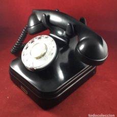 Teléfonos: ANTIGUO TELÉFONO BAQUELITA ESPAÑOL 5523E, DE STANDARD ELÉCTRICA, PARA ABONADOS DE LA CTNE. Lote 277430288