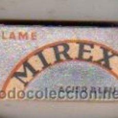 Antigüedades: CAJA DE HOJAS DE AFEITAR MIREX-CUCHILLAS. Lote 277519678