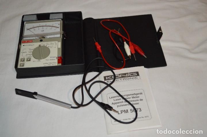 Antigüedades: LPM 5673 MEDIDOR LÁSER / Japan - Instrumento comprobación/reparación COMPACT DISC y otros ¡Mira! - Foto 2 - 277579868
