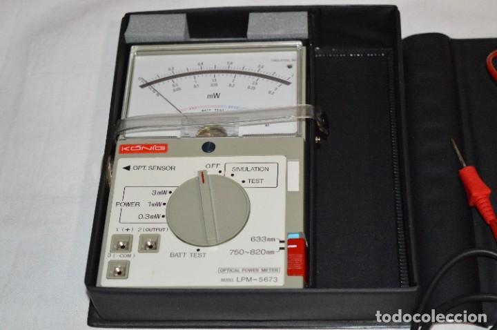 Antigüedades: LPM 5673 MEDIDOR LÁSER / Japan - Instrumento comprobación/reparación COMPACT DISC y otros ¡Mira! - Foto 3 - 277579868