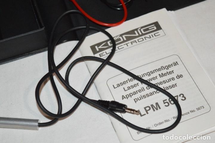Antigüedades: LPM 5673 MEDIDOR LÁSER / Japan - Instrumento comprobación/reparación COMPACT DISC y otros ¡Mira! - Foto 5 - 277579868