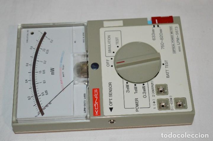 Antigüedades: LPM 5673 MEDIDOR LÁSER / Japan - Instrumento comprobación/reparación COMPACT DISC y otros ¡Mira! - Foto 8 - 277579868
