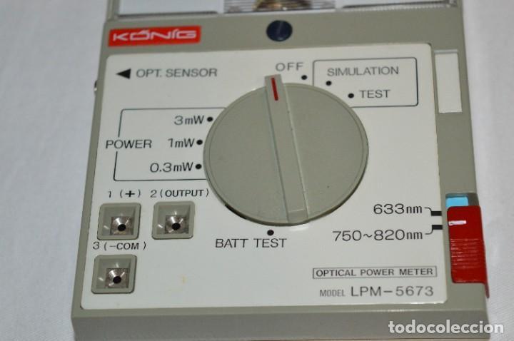 Antigüedades: LPM 5673 MEDIDOR LÁSER / Japan - Instrumento comprobación/reparación COMPACT DISC y otros ¡Mira! - Foto 10 - 277579868