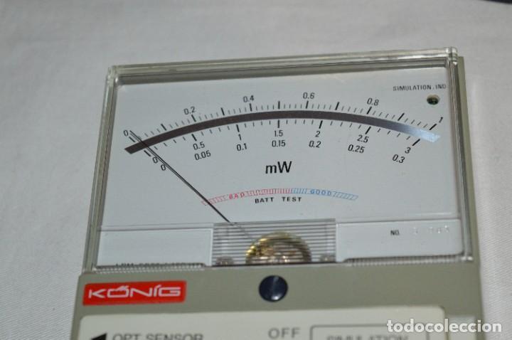 Antigüedades: LPM 5673 MEDIDOR LÁSER / Japan - Instrumento comprobación/reparación COMPACT DISC y otros ¡Mira! - Foto 12 - 277579868