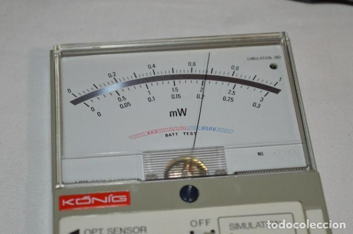 Antigüedades: LPM 5673 MEDIDOR LÁSER / Japan - Instrumento comprobación/reparación COMPACT DISC y otros ¡Mira! - Foto 11 - 277579868