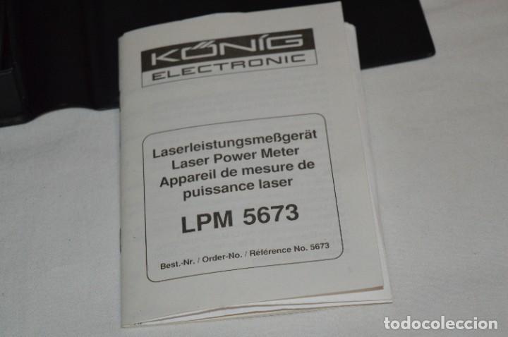 Antigüedades: LPM 5673 MEDIDOR LÁSER / Japan - Instrumento comprobación/reparación COMPACT DISC y otros ¡Mira! - Foto 17 - 277579868