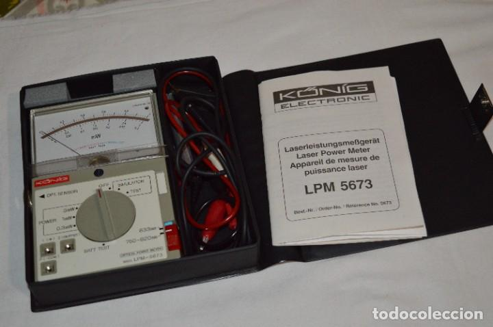 LPM 5673 MEDIDOR LÁSER / JAPAN - INSTRUMENTO COMPROBACIÓN/REPARACIÓN COMPACT DISC Y OTROS ¡MIRA! (Antigüedades - Técnicas - Herramientas Profesionales - Electricidad)