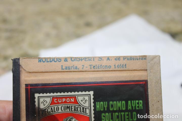 Antigüedades: DIAPOSITIVA DE CRISTAL Nº 3 CUPON COMERCIAL, ROLDOS & GISBERT DE PUBLICIDAD, VALENCIA - Foto 5 - 277700073