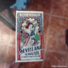 Antigüedades: FUNDA DE CUCHILLA DE AFEITAR ANTIGUA. SEVILLANA. Lote 277715793