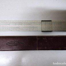 Antigüedades: ANTIGUA REGLA DE CALCULO RAPHOPLEX 640. Lote 277726163