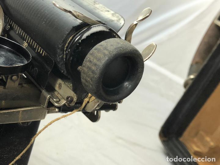 Antigüedades: Antigua maquina de escribir Corona Typewriter company, 3, portatil plegable. con caja original. - Foto 6 - 277738138