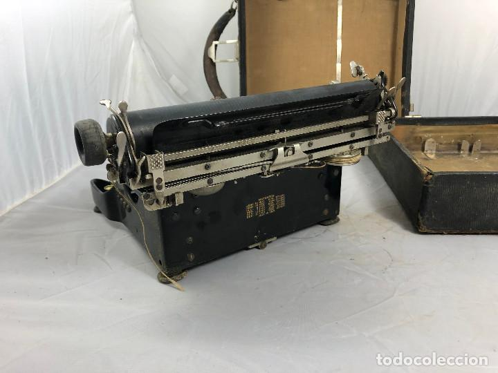 Antigüedades: Antigua maquina de escribir Corona Typewriter company, 3, portatil plegable. con caja original. - Foto 8 - 277738138