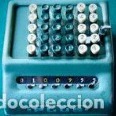 Antigüedades: CALCULADORA SUMADORA DE TECLADO BELL PUNCH COMPANY LIMITED MODELO PLUS 506/C/C/45.001/L. Lote 277834953
