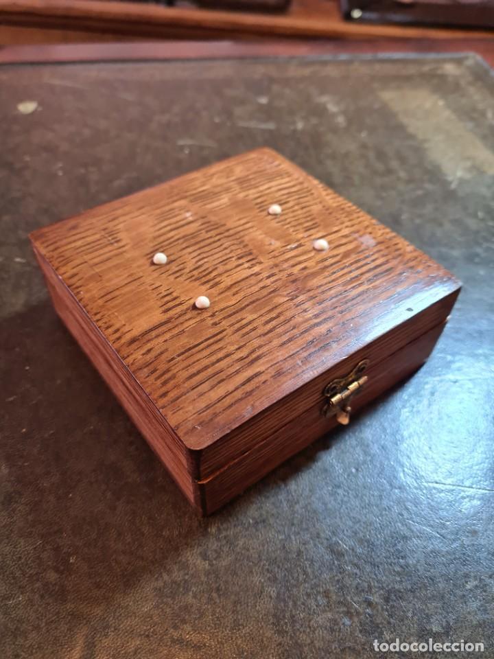 Antigüedades: Magnífica maquinilla de afeitar WILKINSON, con 7 cuchillas, una para dia de la semana, original. - Foto 25 - 278163603