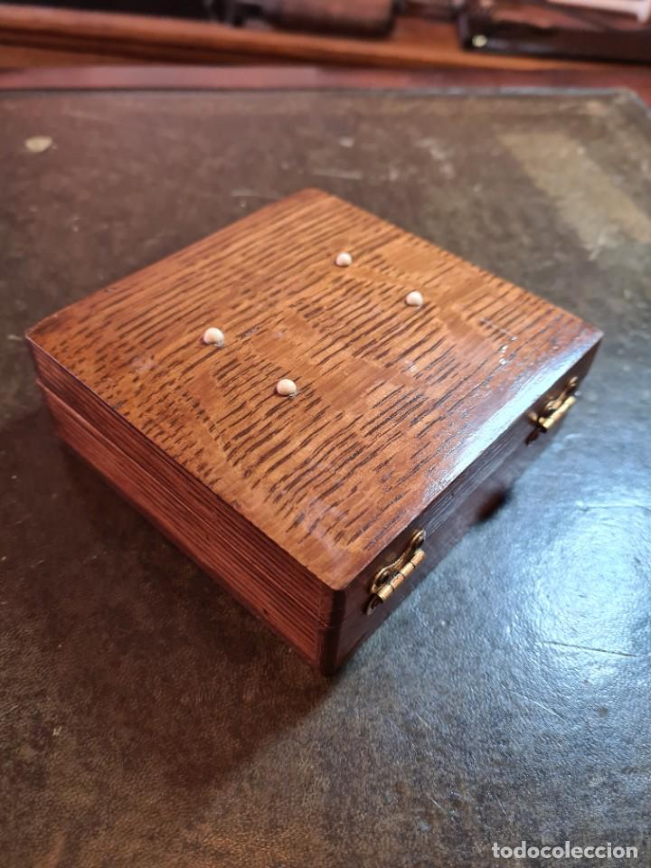 Antigüedades: Magnífica maquinilla de afeitar WILKINSON, con 7 cuchillas, una para dia de la semana, original. - Foto 26 - 278163603