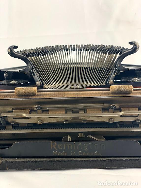 Antigüedades: Remington Modelo 5 Máquina de Escribir Portátil - años 20 - Foto 3 - 278200903