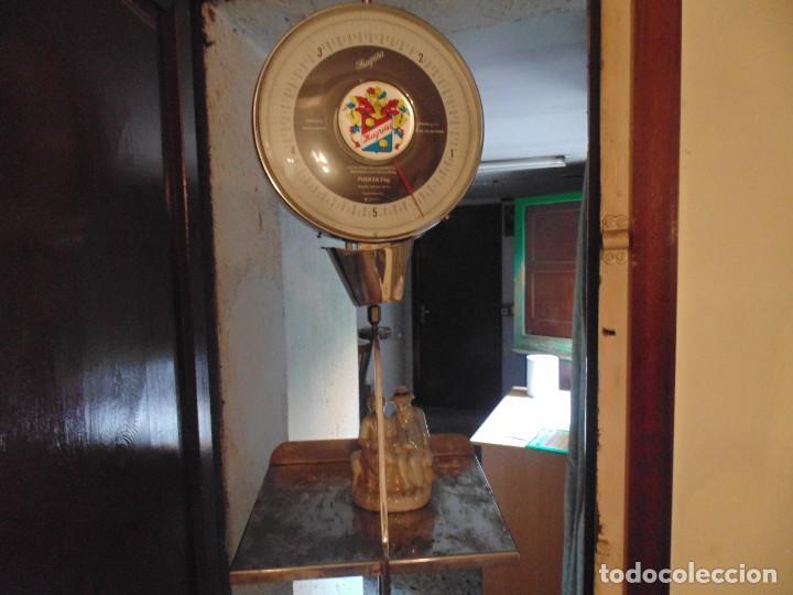 Antigüedades: Antigua Bascula de Colgar Magriñá Modelo 305N - Foto 9 - 278230438