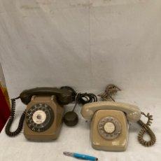 Teléfonos: LOTE DE DOS TELEFONOS ANTIGUOS DE RUEDA!. Lote 278272968