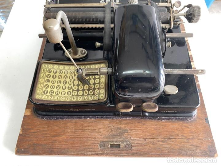 """Antigüedades: maquina de escribir MIGNON """"AEG"""" - Foto 4 - 278278963"""