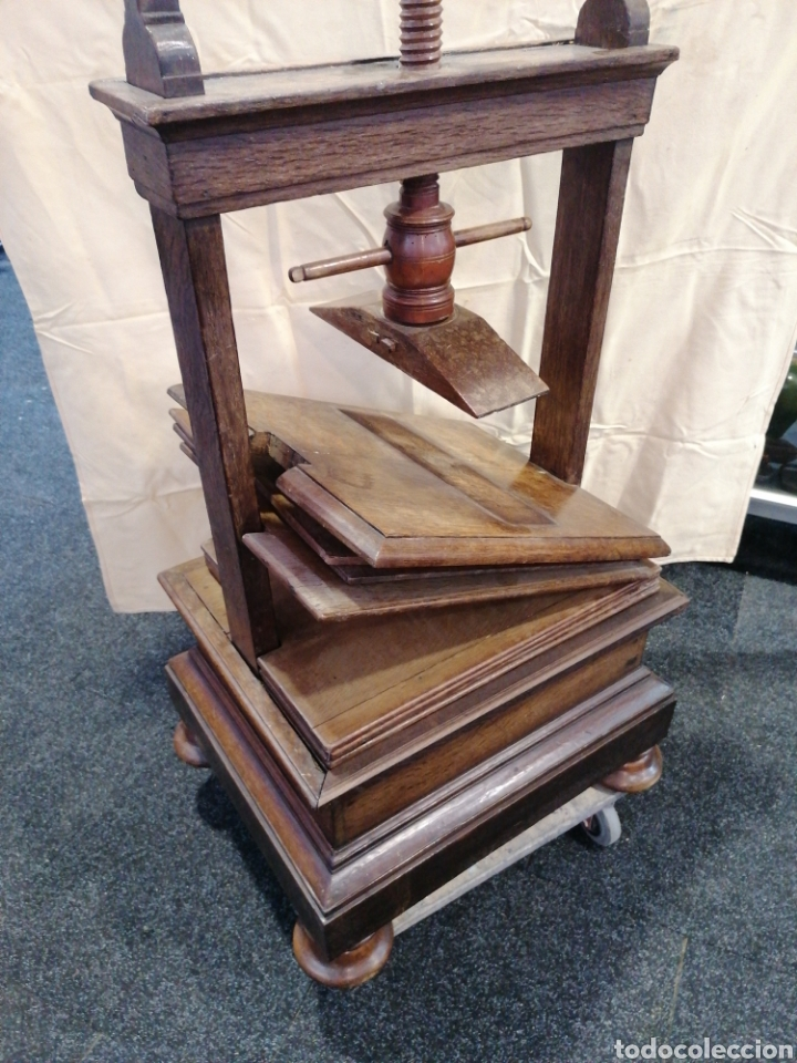 Antigüedades: Prensa de imprenta - Foto 9 - 278338918