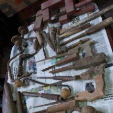 Antigüedades: GRAN LOTE DE HERRAMIENTAS ANTIGUAS. Lote 278405278