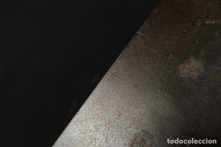 Antigüedades: Lote Dos Antiguas Escuadras Inglesas de Hierro Madera y Bronce - Foto 16 - 278498993