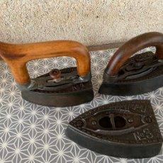Antigüedades: PLANCHAS ANTIGUAS CARBON BILGERY PACKS MODELS NUM 1, 2 Y 3. Lote 278528798