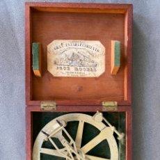 Antigüedades: TRANSPORTADOR DE ANGULOS JOSÉ ROSELL , BARCELONA , S. XIX . O.P. N. 2 , RAPPORTEUR ANGLAIS. Lote 278585338
