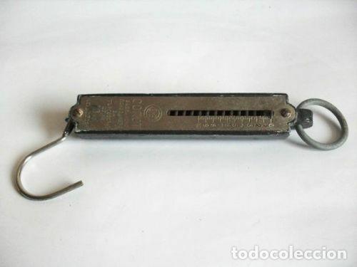Antigüedades: Balanza de resorte vintage de 10 kg - Foto 7 - 278589078