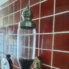 Antigüedades: ANTIGUO DISPENSADORDE CAFE , DE CRISTAL .MIDE ALTO 50 CM. Lote 278592363