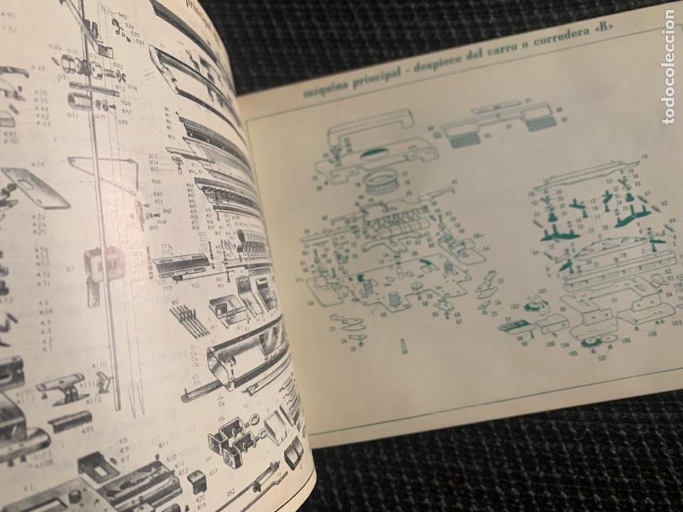 Antigüedades: Manual de instrucciones de 1967 brother modelo 581-L - Foto 2 - 278763428